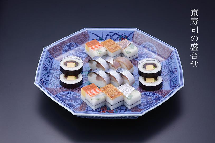 京寿司の盛合せ